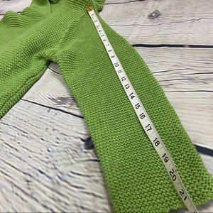 4$25 Misslook green hooded sweater cardigan